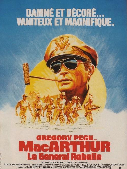 affiche du film MacArthur, le général rebelle
