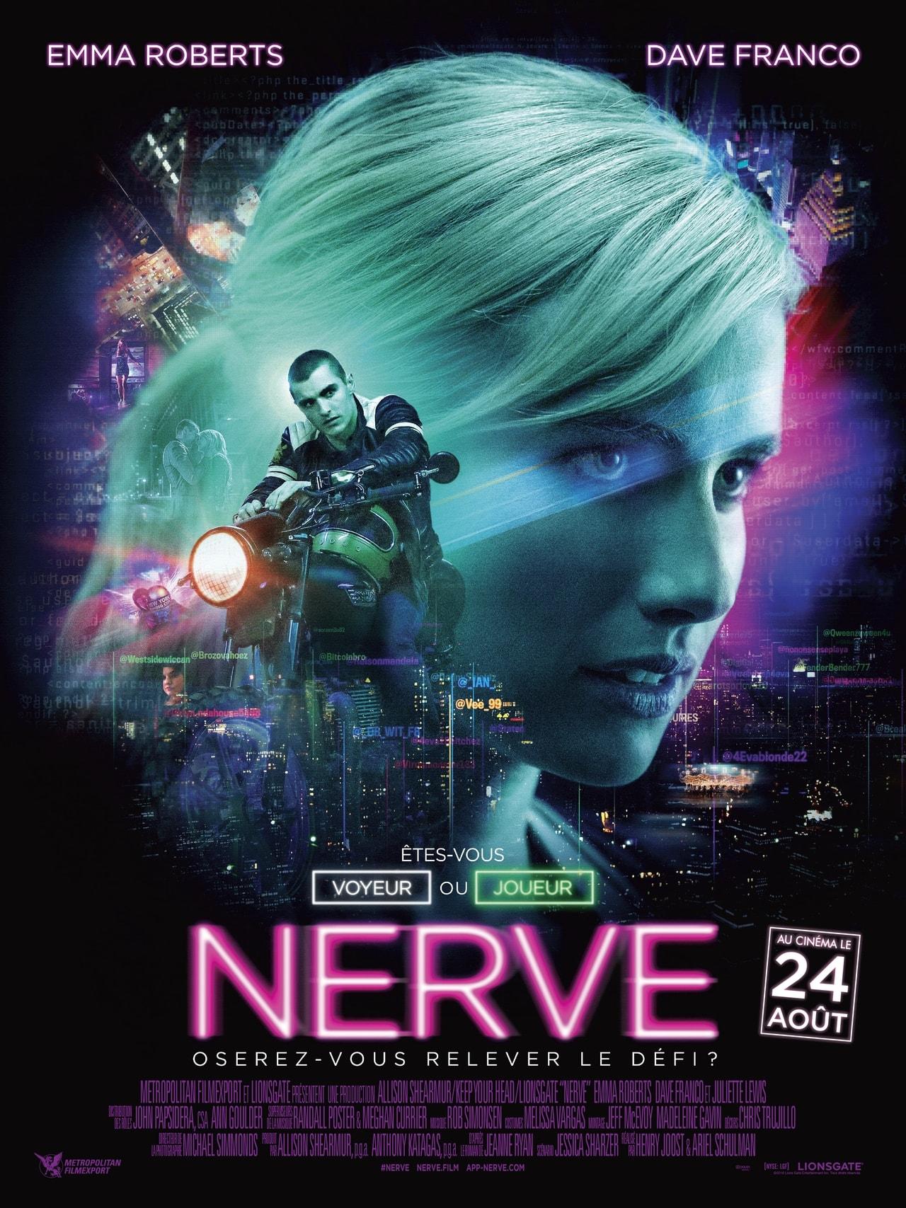 affiche du film Nerve