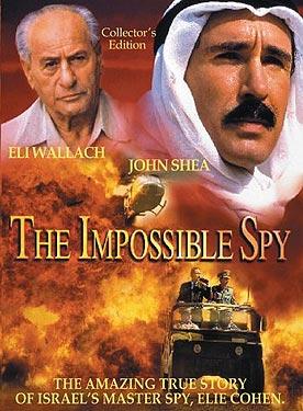 affiche du film The Impossible Spy