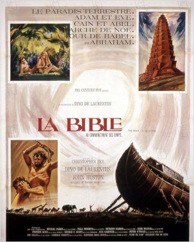 affiche du film La Bible