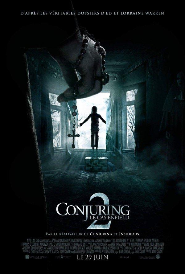 affiche du film Conjuring 2 : Le cas Enfield