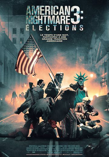 affiche du film American Nightmare 3 : Élections