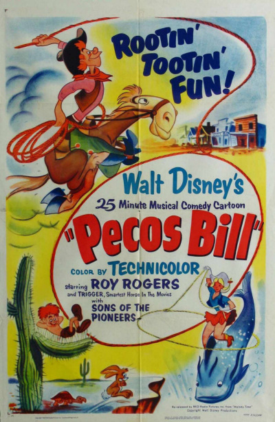 affiche du film Pecos Bill