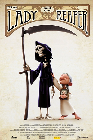 affiche du film The Lady and the Reaper