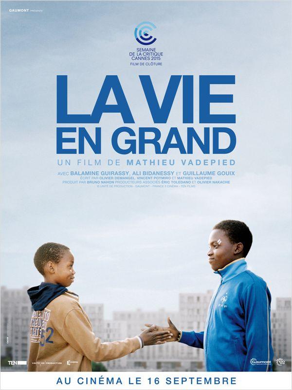affiche du film La vie en grand