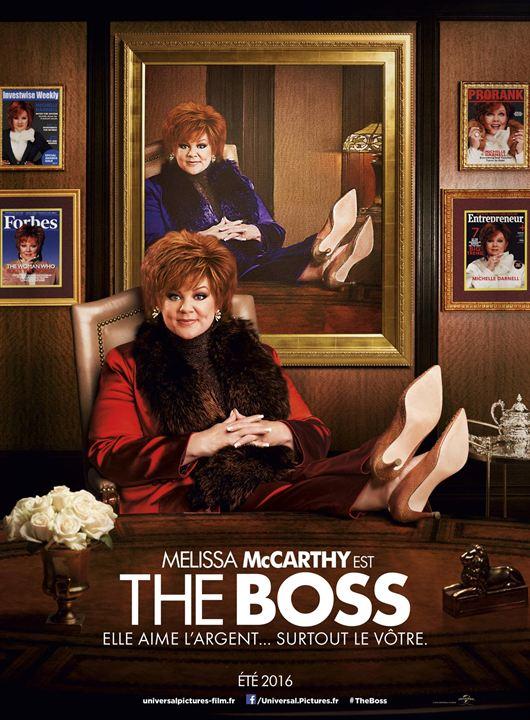 affiche du film The Boss