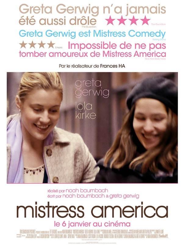 affiche du film Mistress America