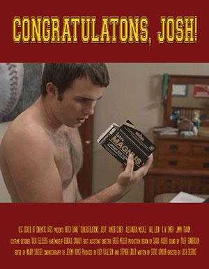 affiche du film Congratulations, Josh !