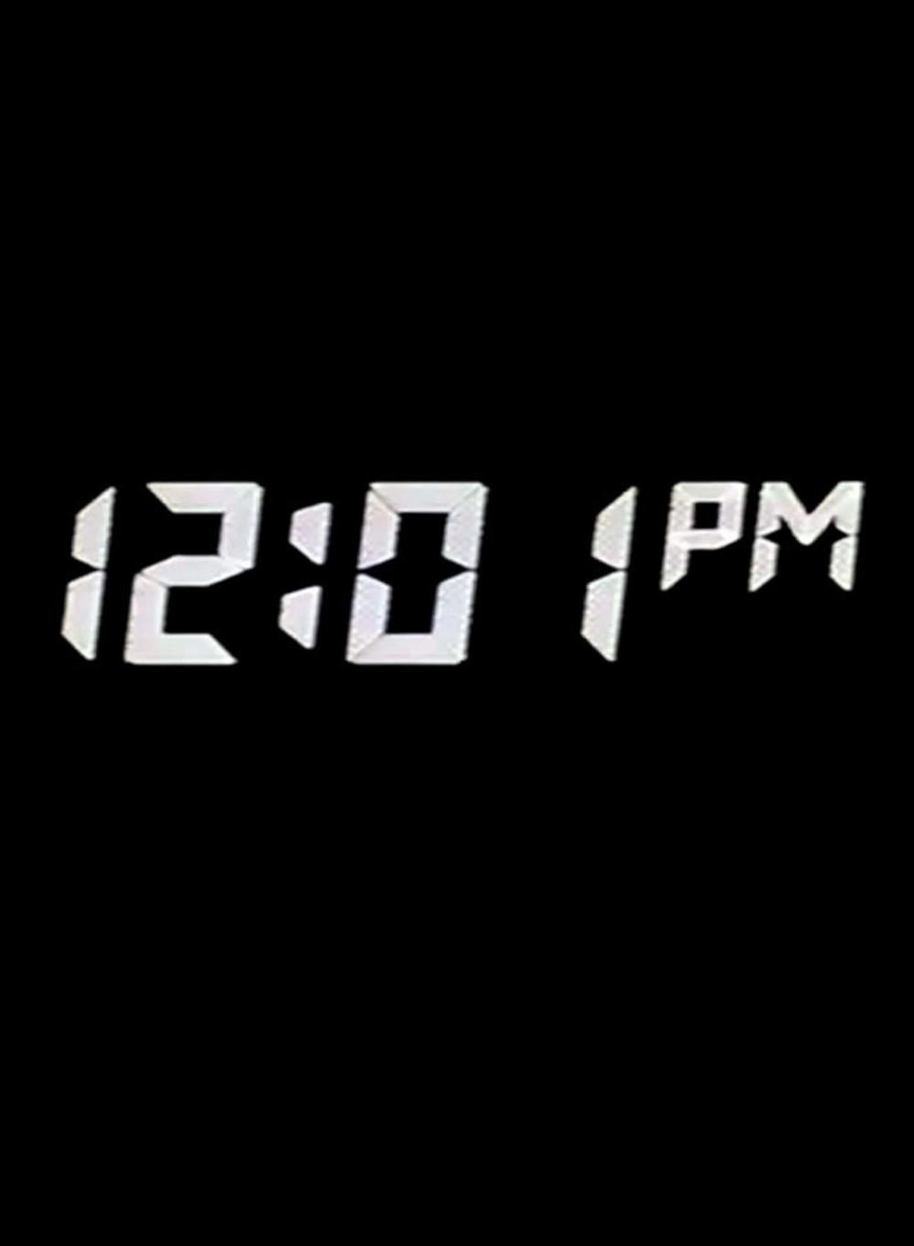 affiche du film 12:01 PM