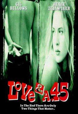 affiche du film L'amour & un 45