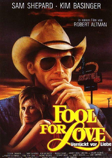 affiche du film Fool for Love