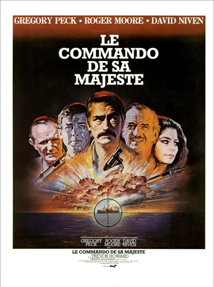 affiche du film Le Commando de sa Majesté
