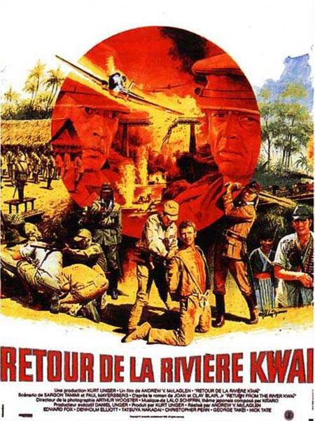 affiche du film Retour de la rivière Kwaï