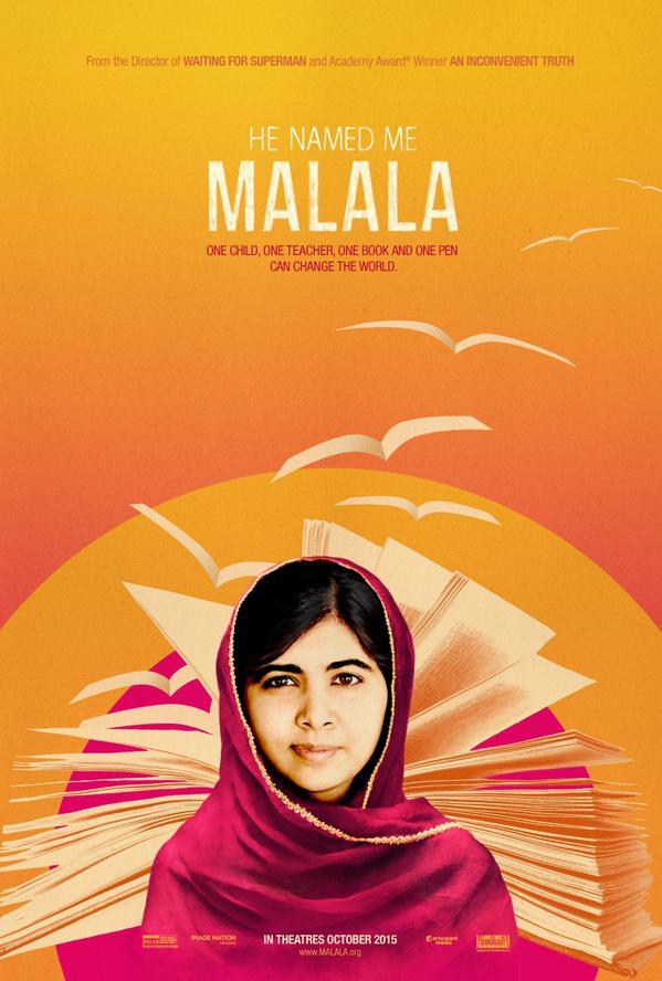 affiche du film Il m'a appelée Malala