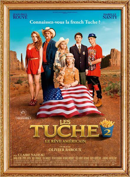 affiche du film Les Tuche 2 : Le rêve américain