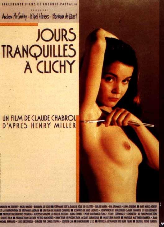 affiche du film Jours tranquilles à Clichy