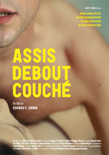 affiche du film Assis, debout, couché