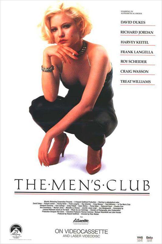 affiche du film The Men's Club