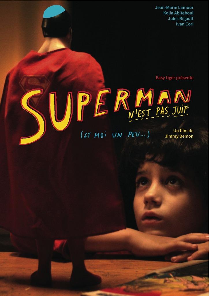 affiche du film Superman n'est pas juif (... et moi un peu)