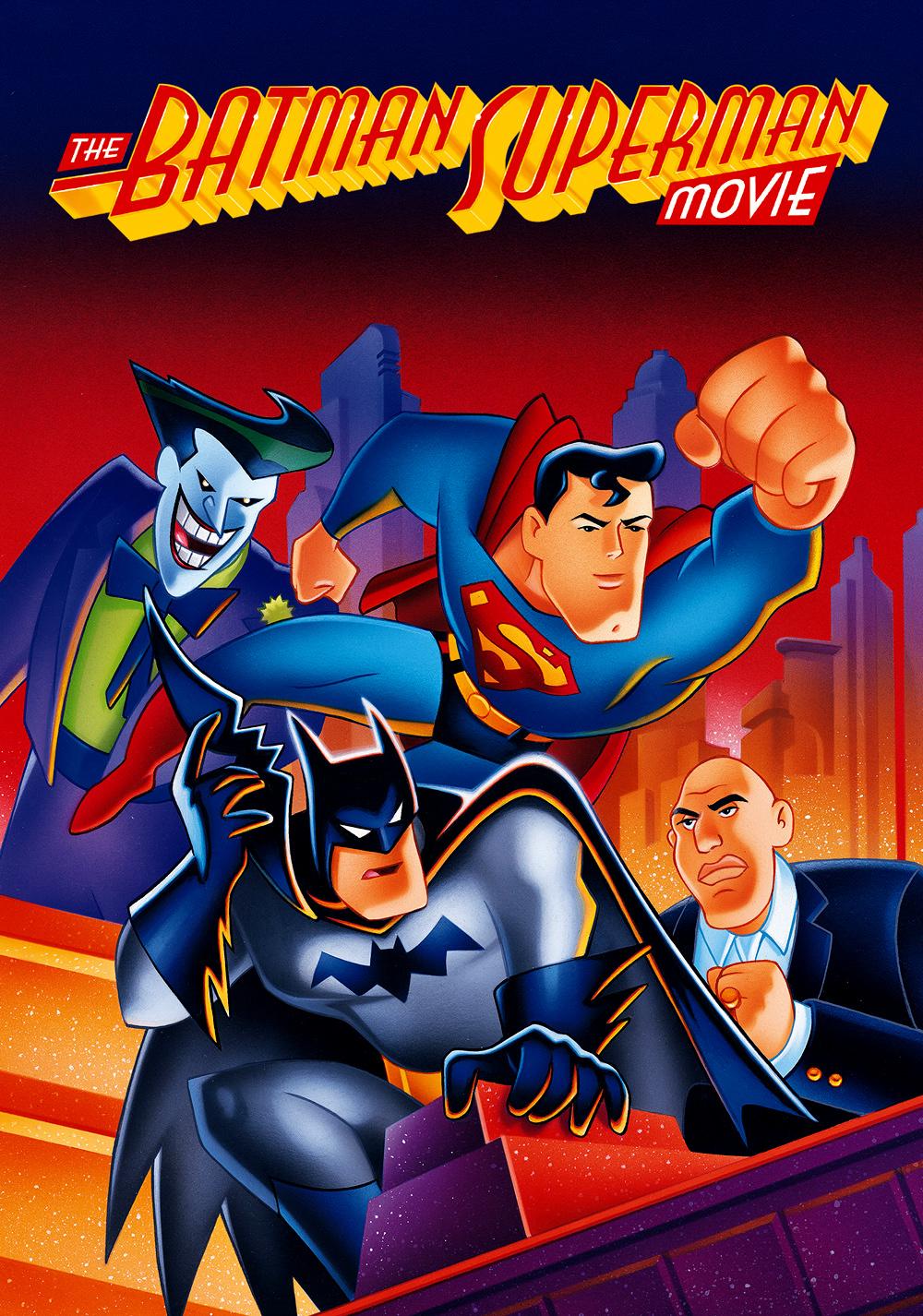 affiche du film The Batman Superman Movie: World's Finest