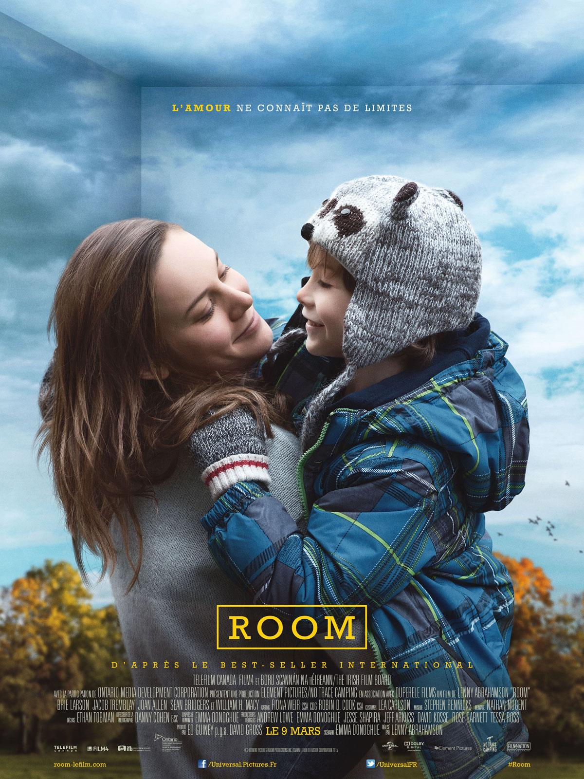 affiche du film Room