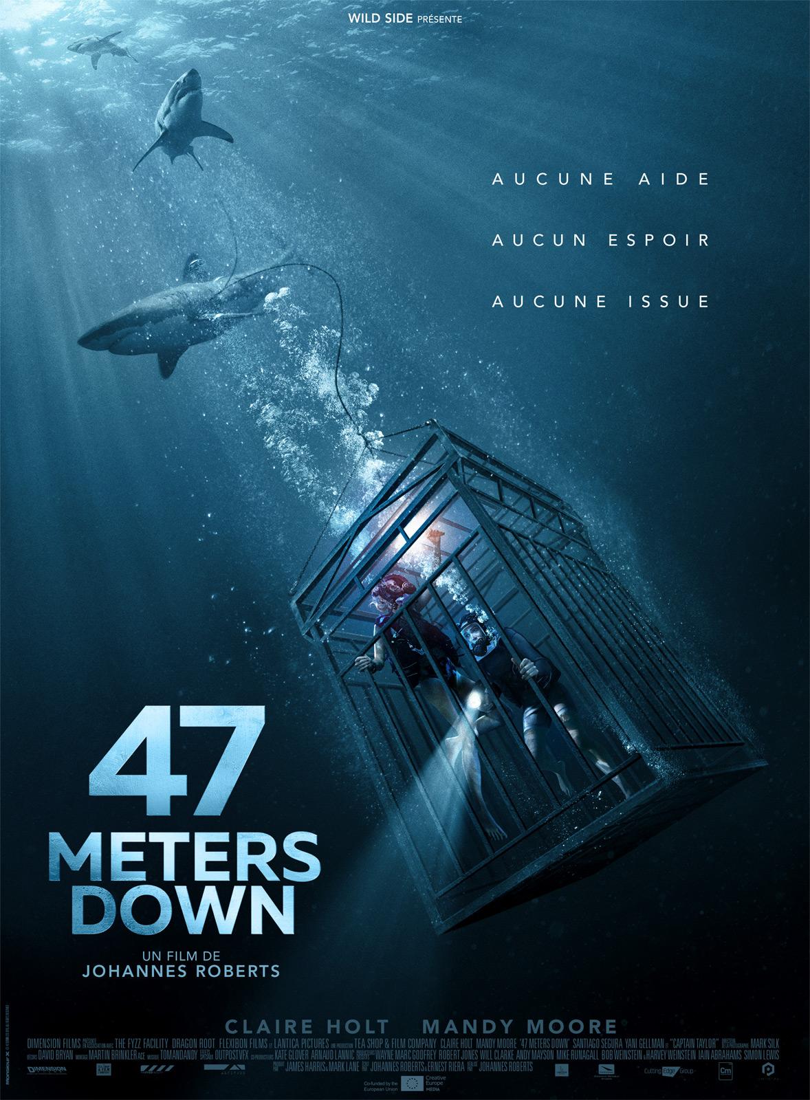 affiche du film 47 Meters Down