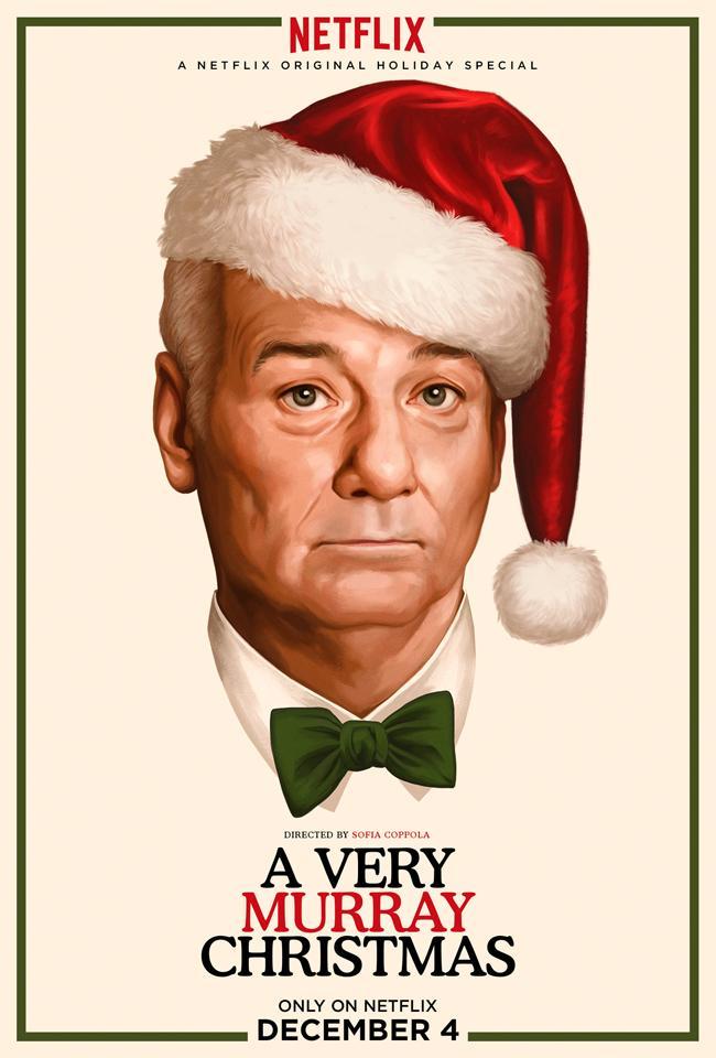 affiche du film A Very Murray Christmas