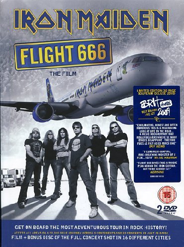 affiche du film Iron Maiden: Flight 666 (live)