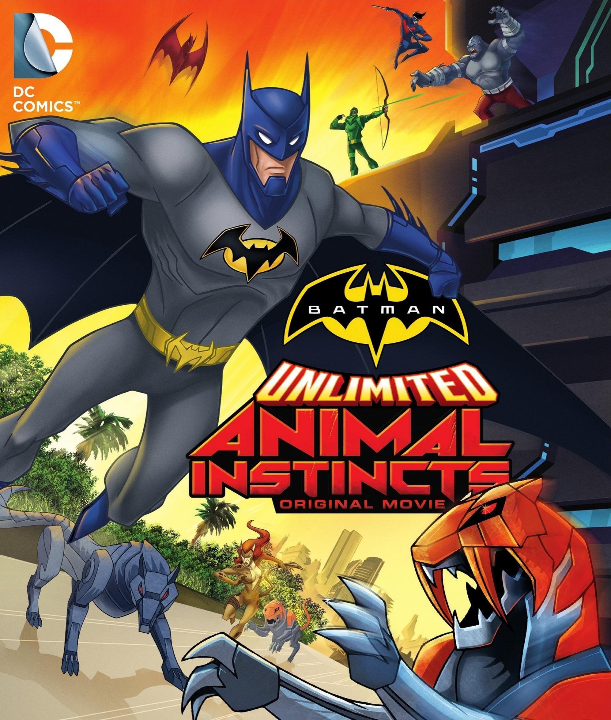 affiche du film Batman Unlimited : L'instinct animal