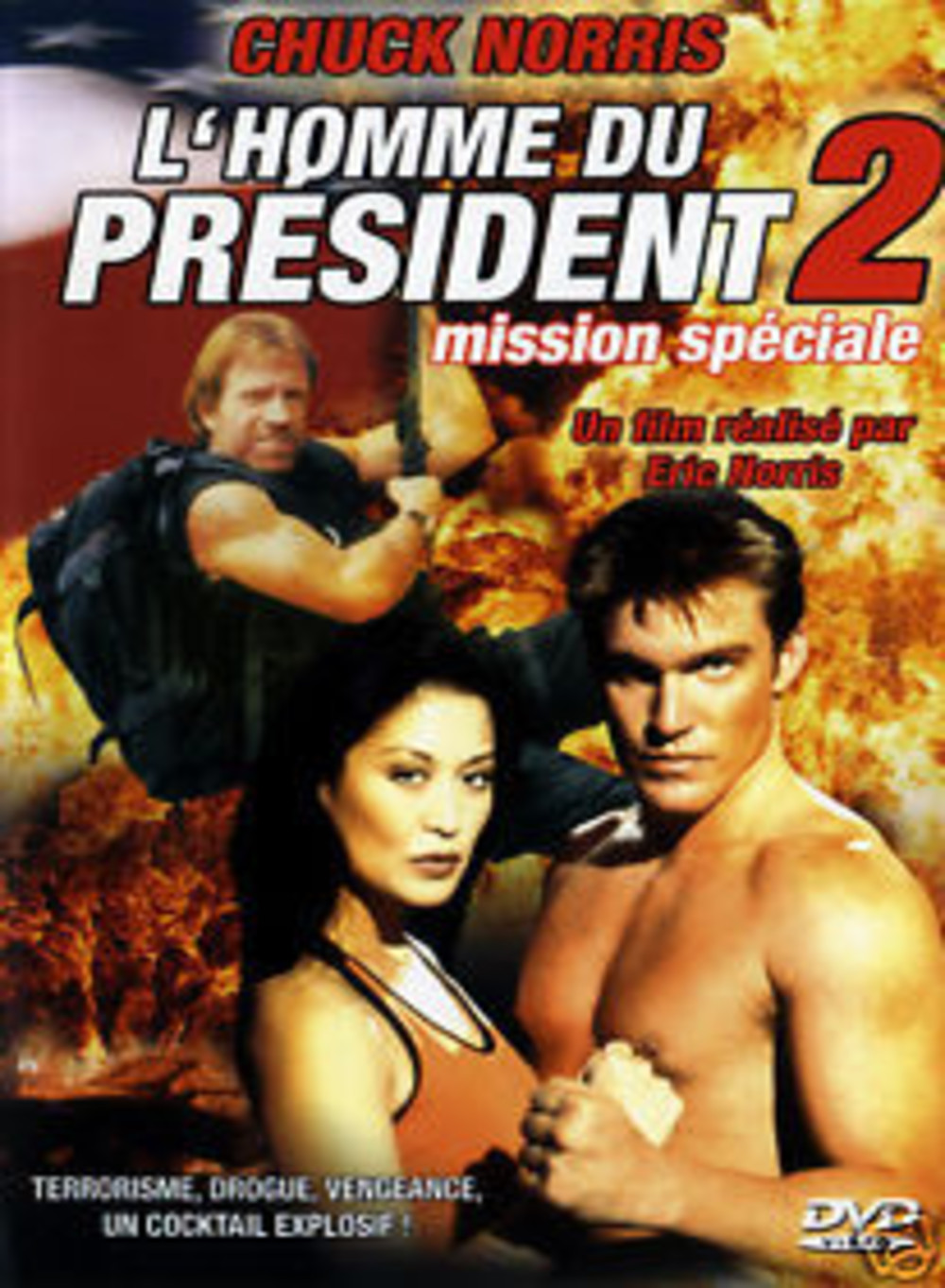 affiche du film L'homme du Président 2: Mission spéciale (TV)