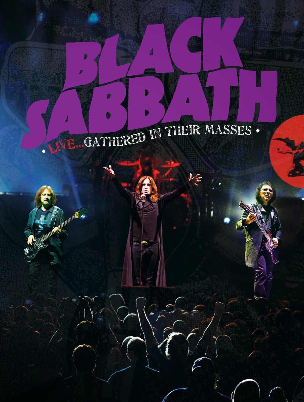 affiche du film Black Sabbath: Live... gathered in their masses
