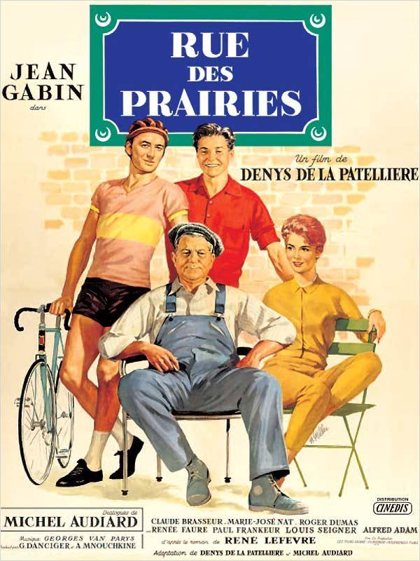 affiche du film Rue des Prairies