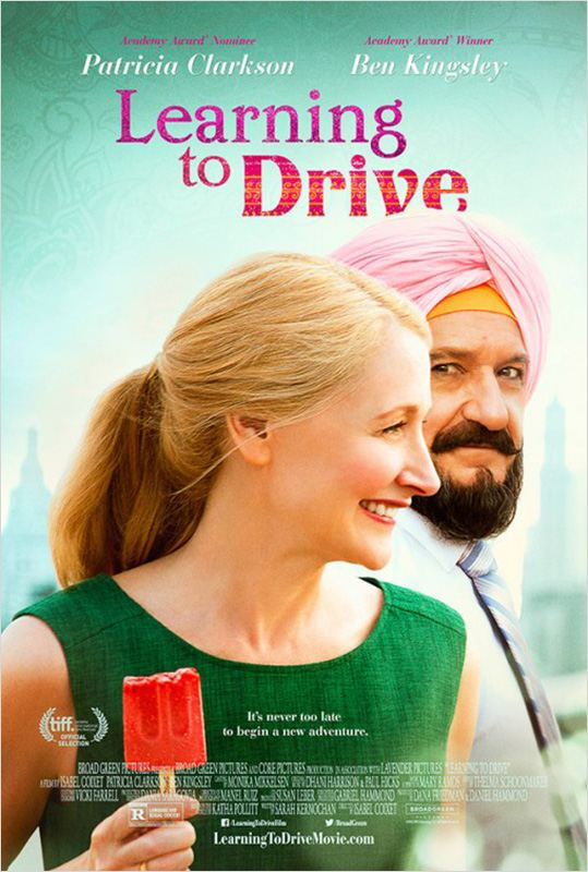 affiche du film Learning to Drive