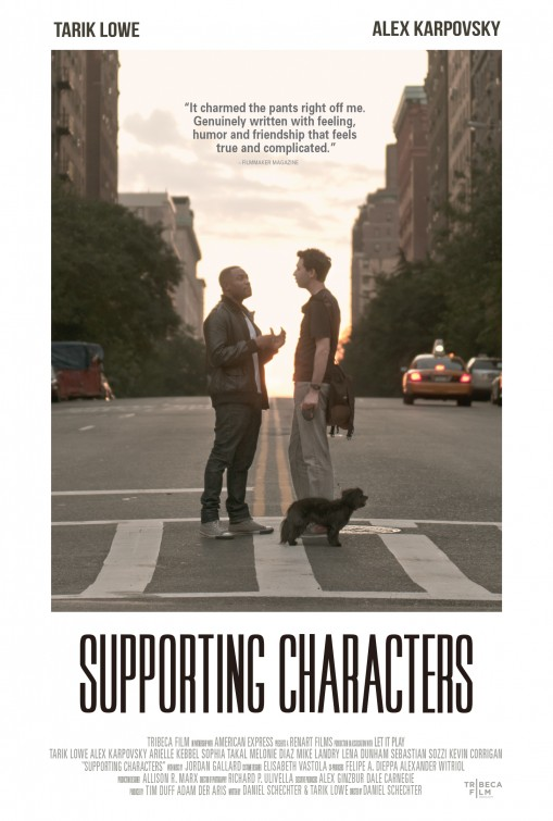 affiche du film Supporting Characters