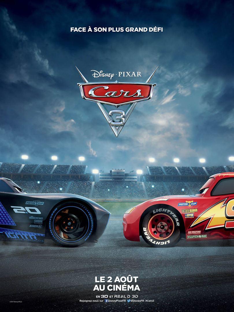 affiche du film Cars 3