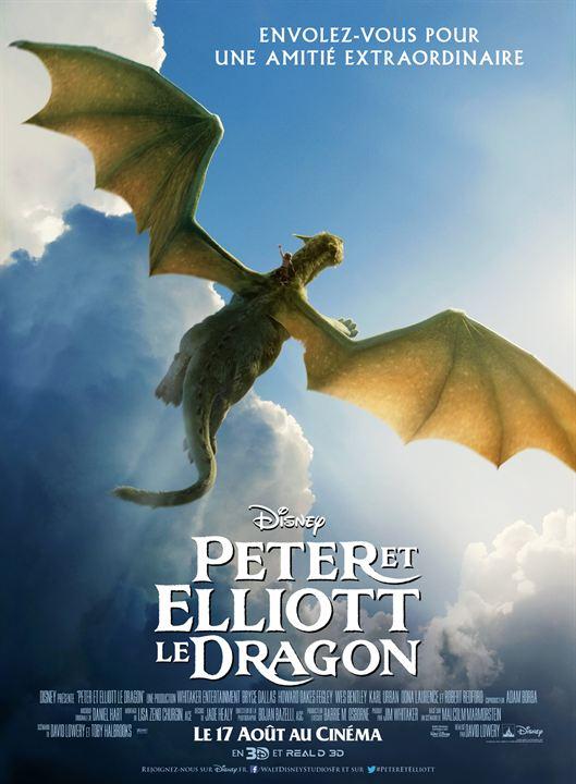 affiche du film Peter et Elliott le Dragon (2016)