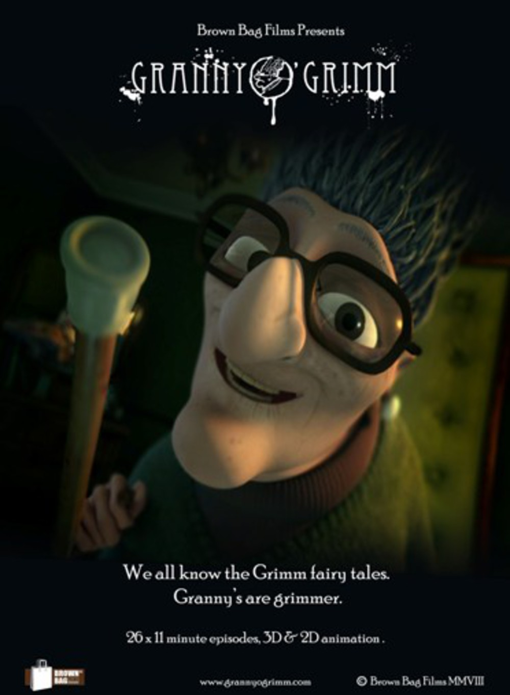 affiche du film Granny O'Grimm's Sleeping Beauty