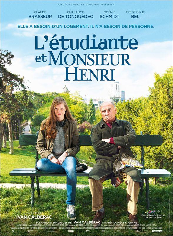 affiche du film L'étudiante et Monsieur Henri