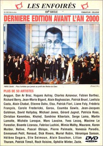 affiche du film Les Enfoirés 1999 ... Dernière Édition avant l'an 2000