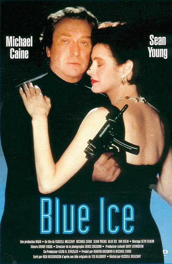 affiche du film Blue Ice