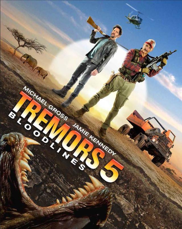 affiche du film Tremors 5: Bloodlines