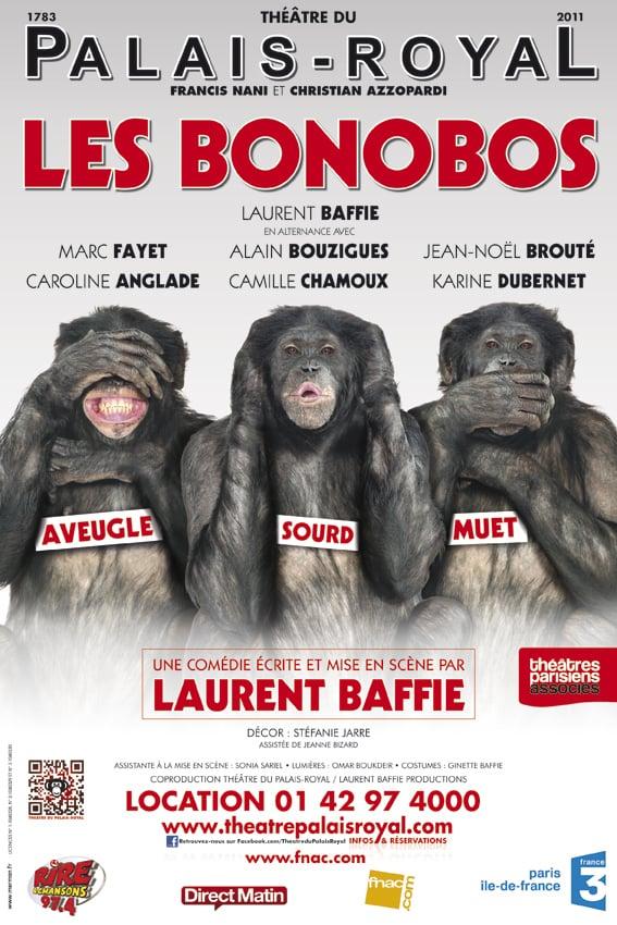 affiche du film Les bonobos