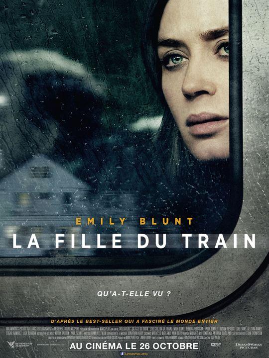 affiche du film La Fille du train