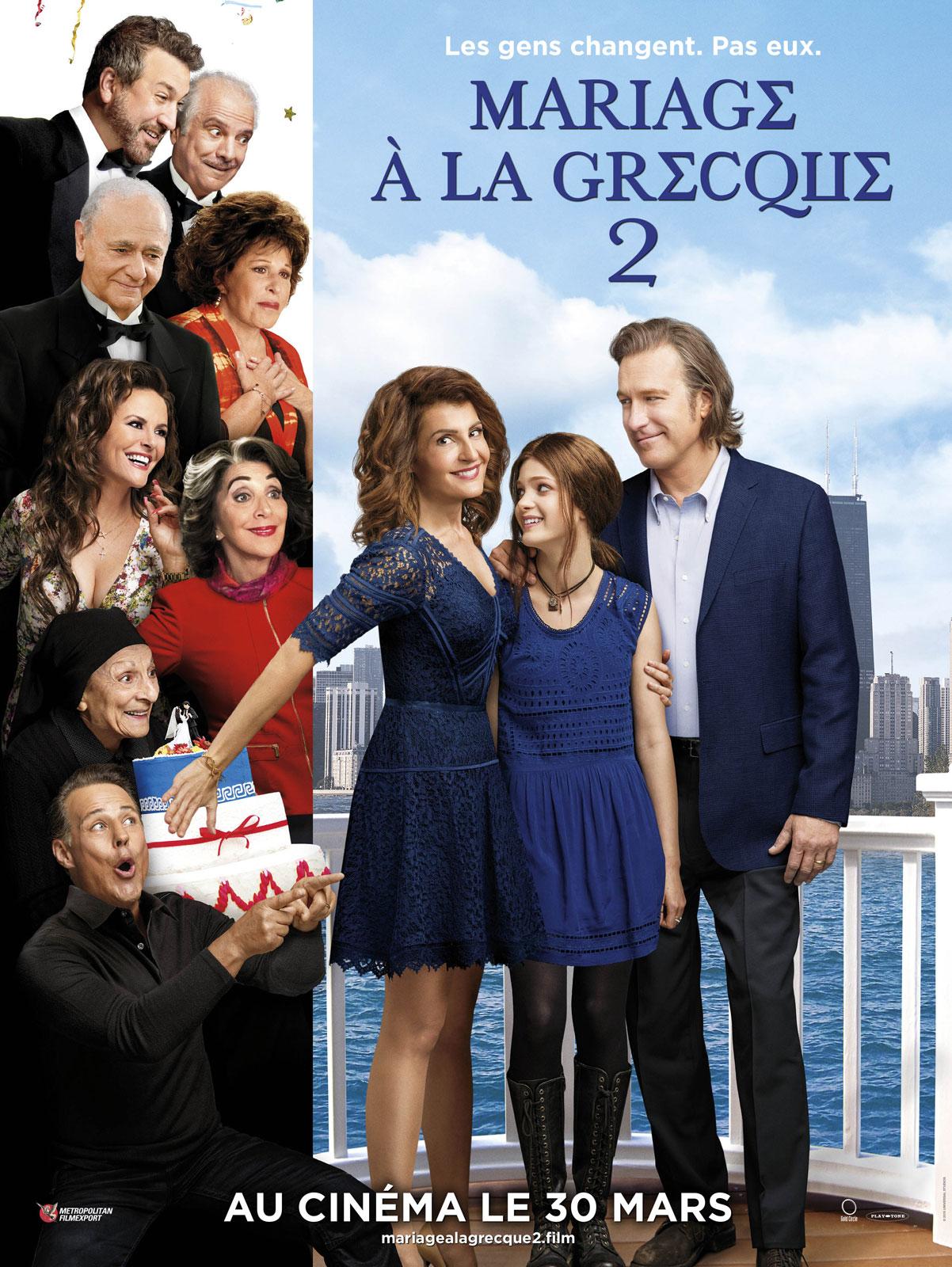 affiche du film Mariage à la grecque 2