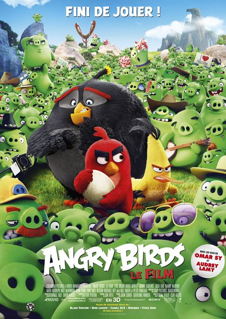 affiche du film Angry Birds, Le film