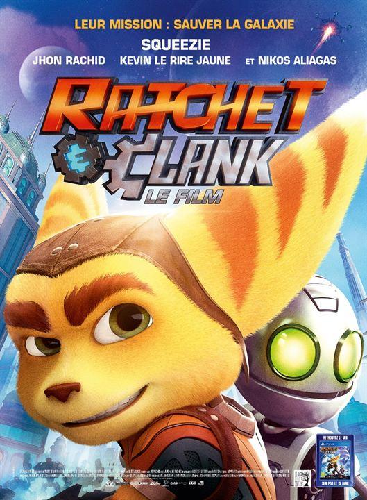 affiche du film Ratchet & Clank
