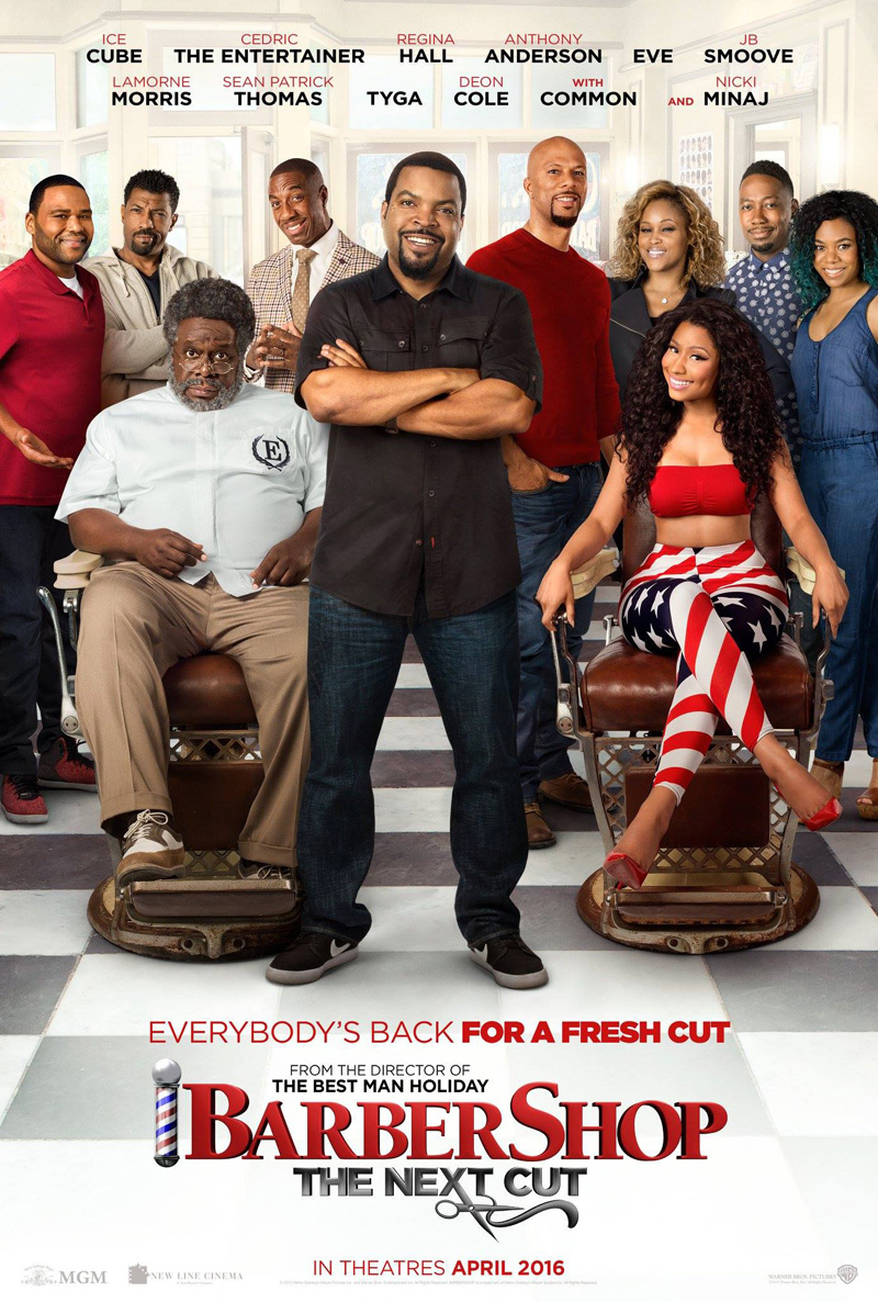 affiche du film Barbershop 3:The Next Cut