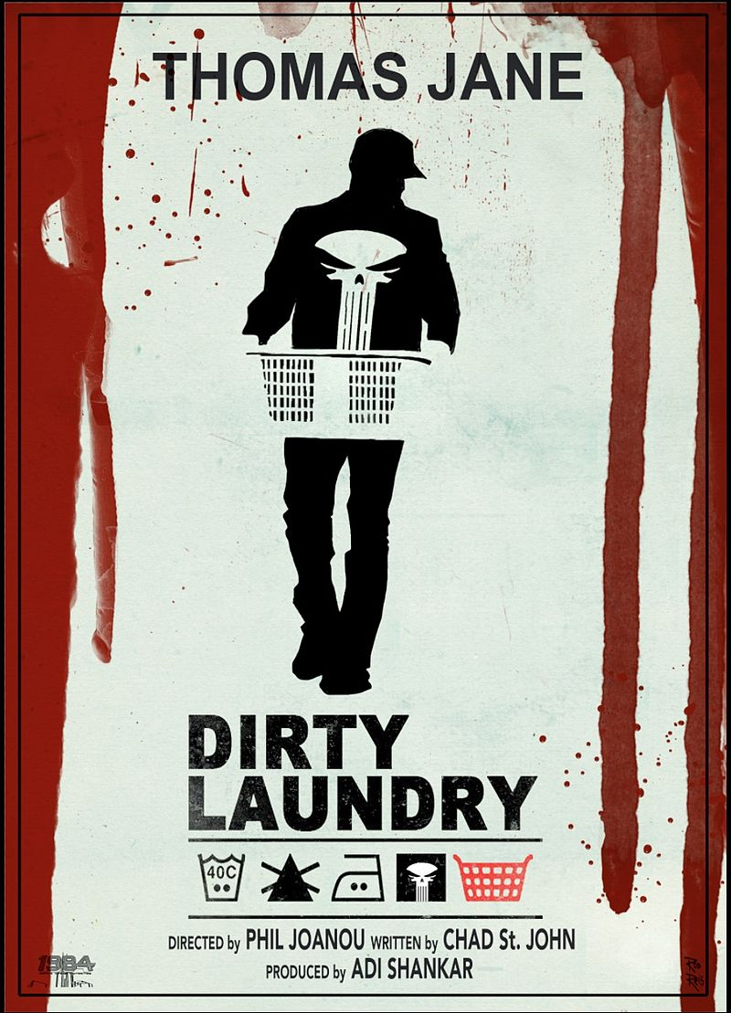 affiche du film The Punisher: Dirty Laundry