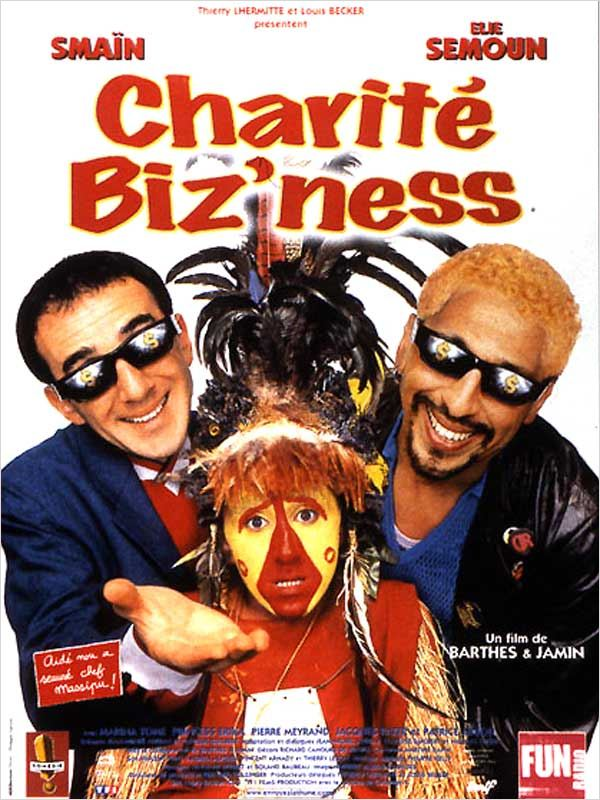 affiche du film Charité Biz'ness