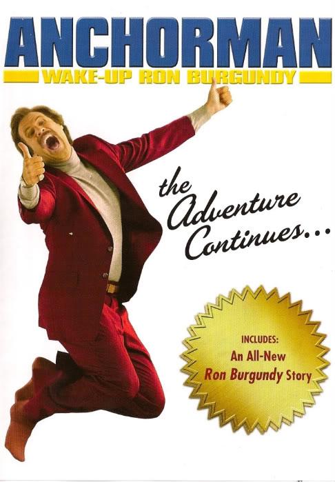 affiche du film Wake Up, Ron Burgundy: The Lost Movie